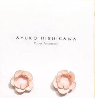 Ayuko fuji pair earrings