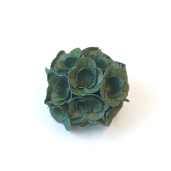 brooch dark green