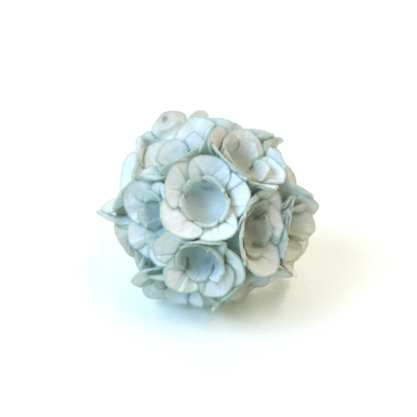 brooch fuji grey